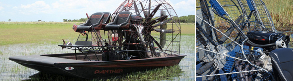 panther airboat